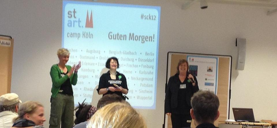 """stARTcamp Köln 2012 – """"Social Web ist schön, macht aber viel Arbeit"""""""