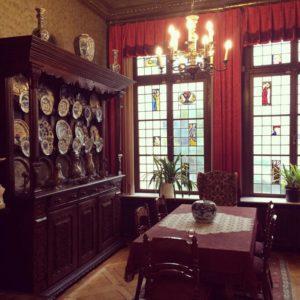 In der Roten Halle feierte Theodor Francksen am 24. September 1910 die Einweihung seines Privatmuseums