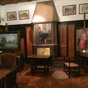 Gemälde von Bernhard Winter in der Ballin'schen Villa