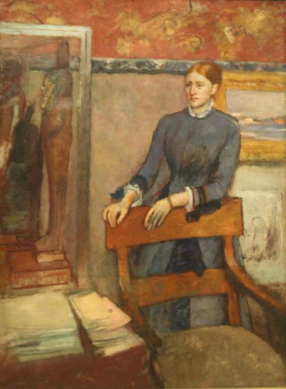 Edgar Degas: Porträt von Hélène Rouart, 1886