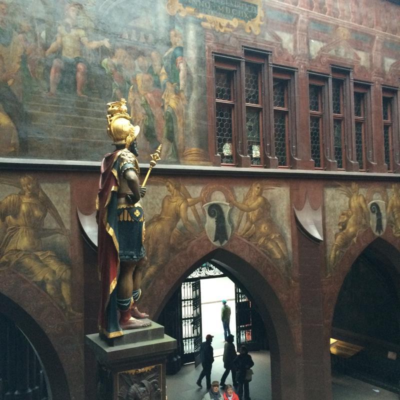 Die Statue stellt Lucius Munatius Plancus dar. Foto: Tanja Neumann