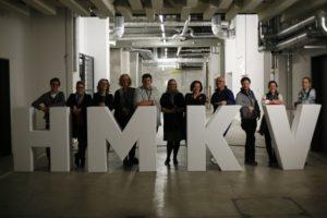 HMKV Workshop Twitterguide 10, Ausstellung _Das Mechanische Corps_, HMKV im Dortmunder U © Rebekka Zajonc