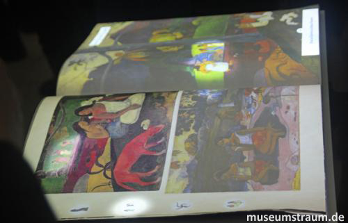 Interaktive Bücher über Gauguin
