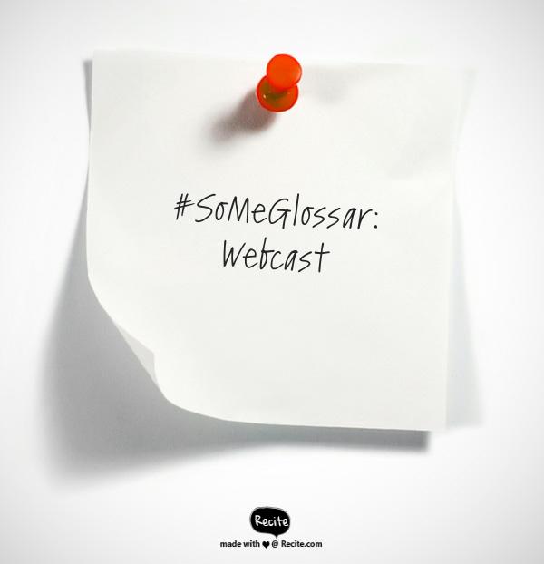 Was ist eigentlich… ein Webcast?