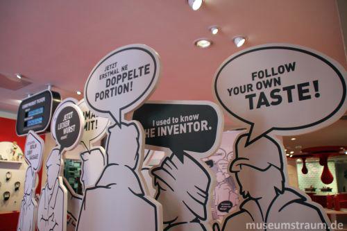 Das Deutsche Currywurst Museum: Hier geht's um die Wurst