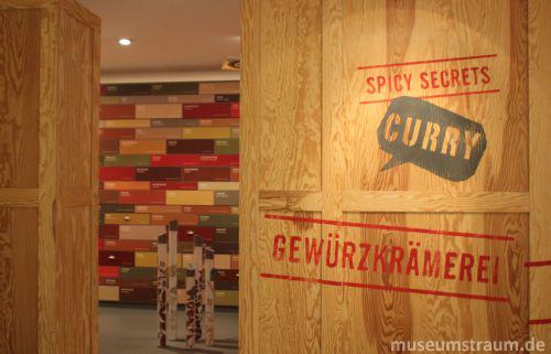 Gewürzkrämerei im Currywurst Museum