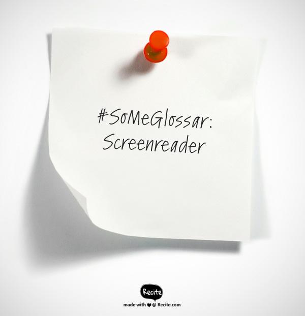 Was ist eigentlich… ein Screenreader?