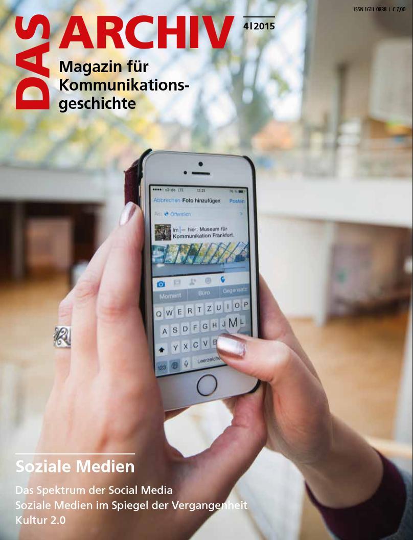 Druckfrisch: Eine Zeitschrift zu Social Media